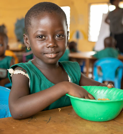 Image of Feed a child