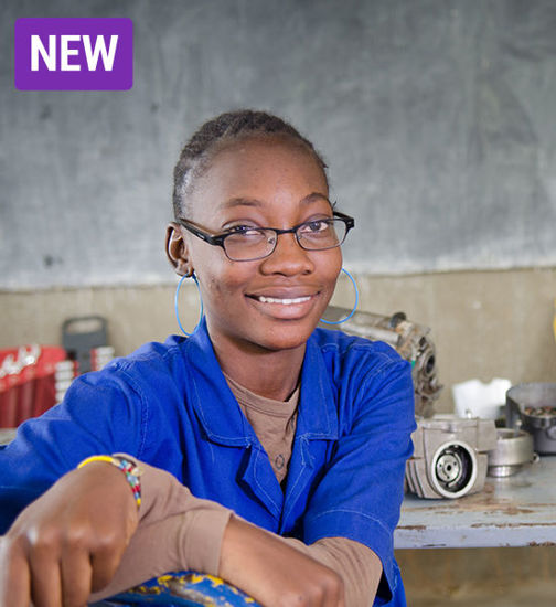 Image of STEM for girls (science, technology, engineering, math)
